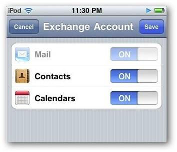 Synchroniser l'agenda de l'iPhone - Terminer la synchronisation des calendriers iPhone avec Hotmail