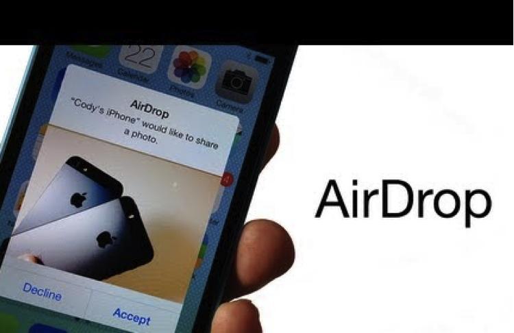 Transférer la vidéo de l'iPhone vers l'iPad en utilisant Airdrop