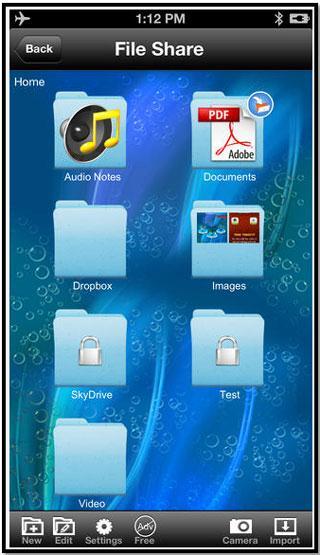 Transfert iphone bluetooth