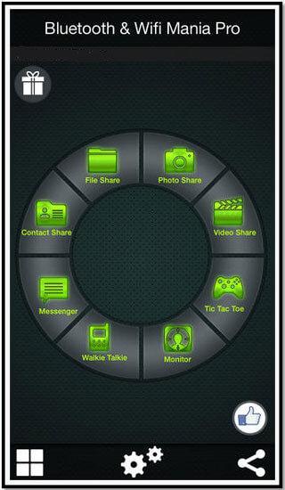 Transfert de fichiers bluetooth iphone