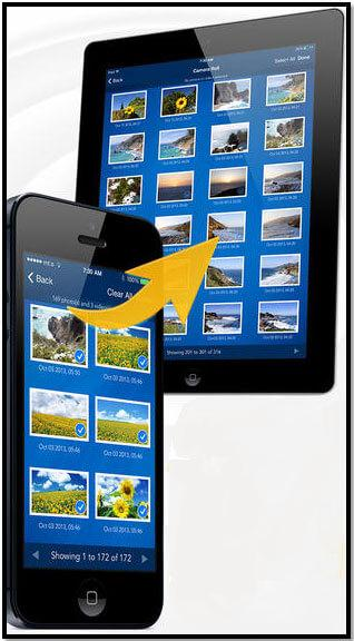 Transfert de fichiers iphone par bluetooth