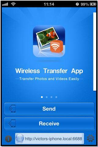 transfert d'Iphone par bluetooth