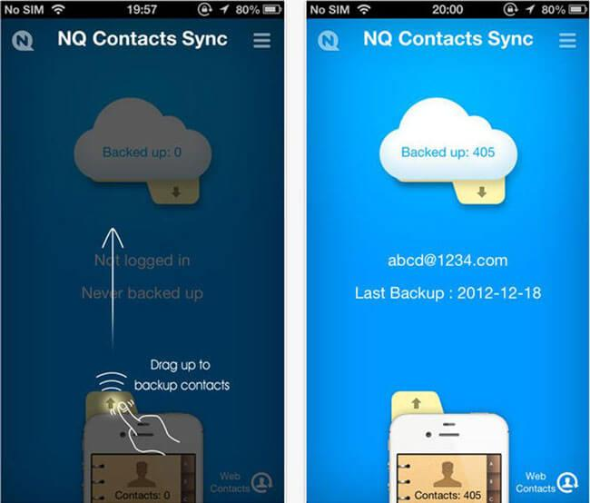 Comment synchroniser les contacts iphone
