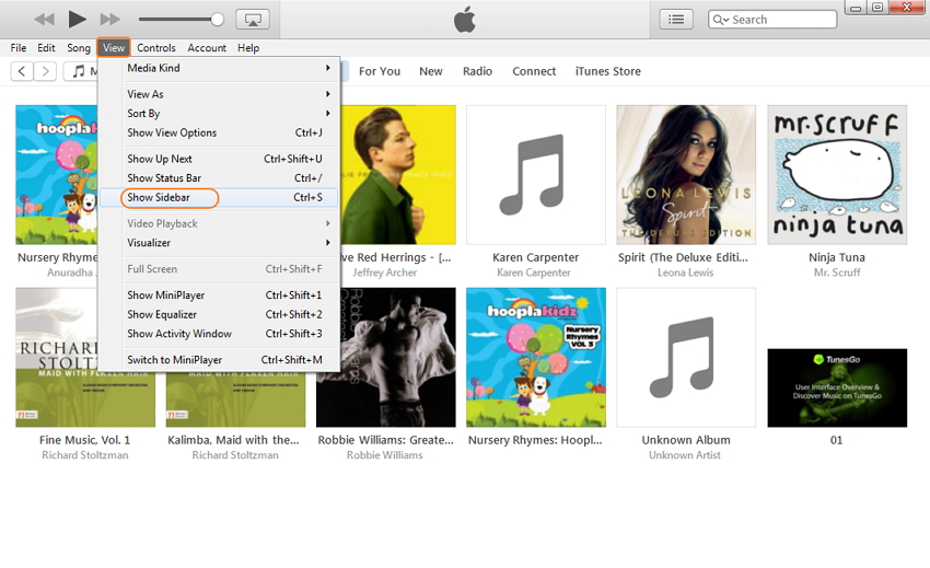 Ajouter de la musique à iPhone ou iPod sans fil