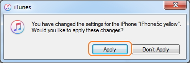 Synchroniser iCal avec iphone - Étape 4 pour synchroniser iCal sur iPhone en utilisant iTunes
