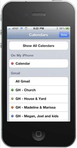 Synchroniser les contacts iphone avec gmail