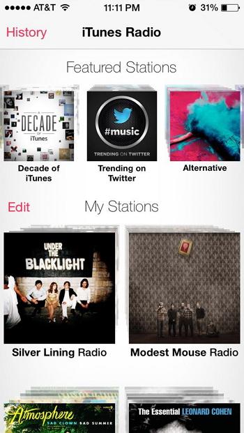 Top 5 des Widgets iTunes de Yahoo-iTunes Radio Lover