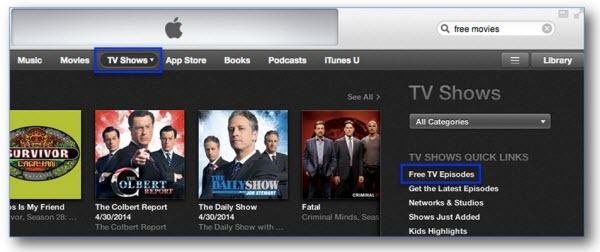 Comment trouver les meilleurs films iTunes-séries tv gratuites