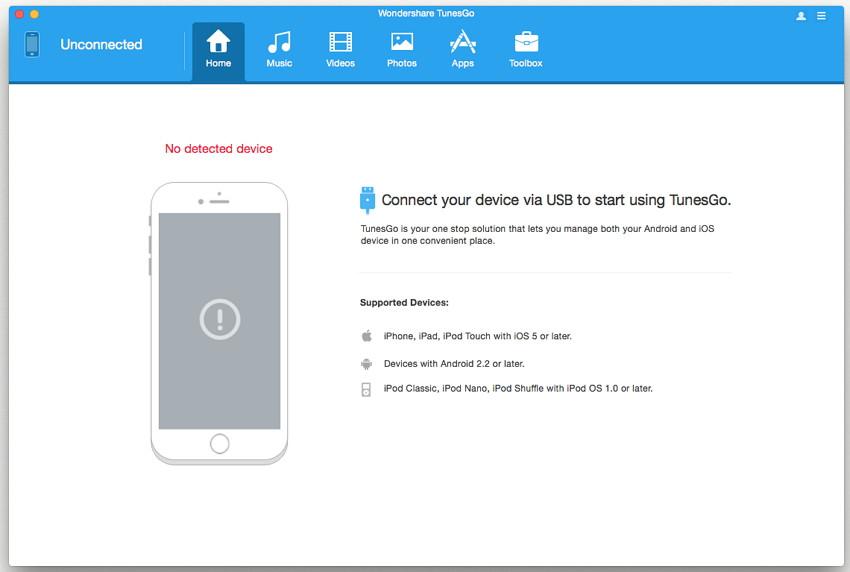 Transférer de la musique iTunes depuis PC vers MAC-Connecter votre appareil iOS le copier vers iTunes