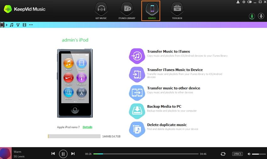 meilleur Compagnon iTunes-Compagnon iTunes Keepvid Music