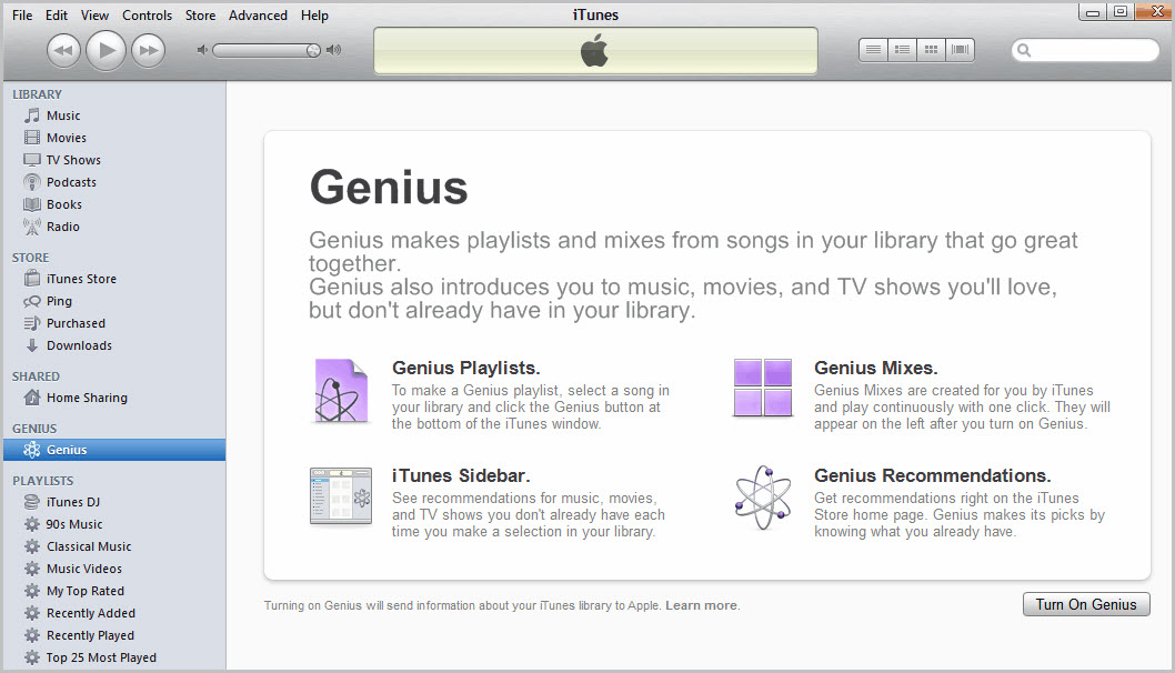 itunes music vs apple music-iTunes Genius