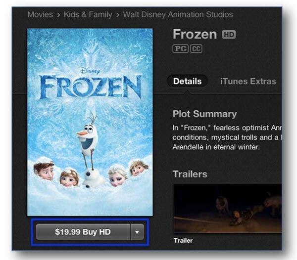Comment trouver les meilleurs films iTunes-prix des films itunes
