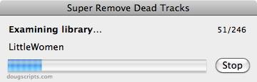 itunes script remove dead tracks
