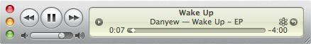 Raccourcis clavier iTunes- mini player