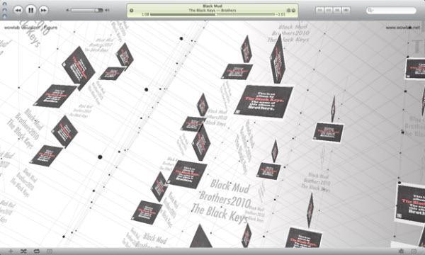 visualiseur iTunes figure