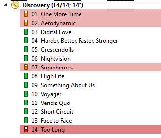 éditeur de musique pour iTunes-Faire correspondre les fichiers et sauver