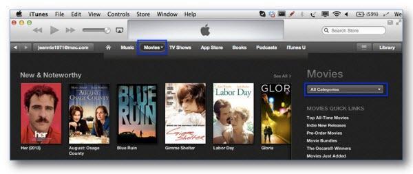 Comment trouver les meilleurs films iTunes-catégories de films