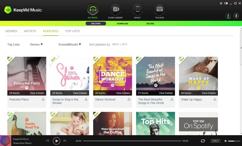 iTunes radio vs pandora- Choisir l'option enregistrer