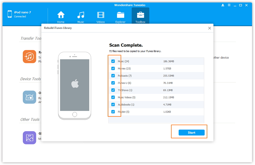 recover itunes library from ipod-Copy to iTunes