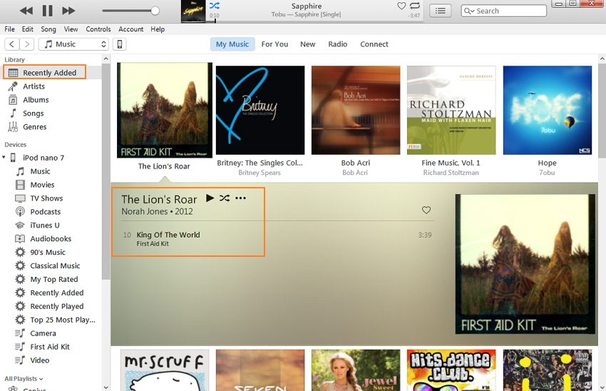 move music to ipod classic
