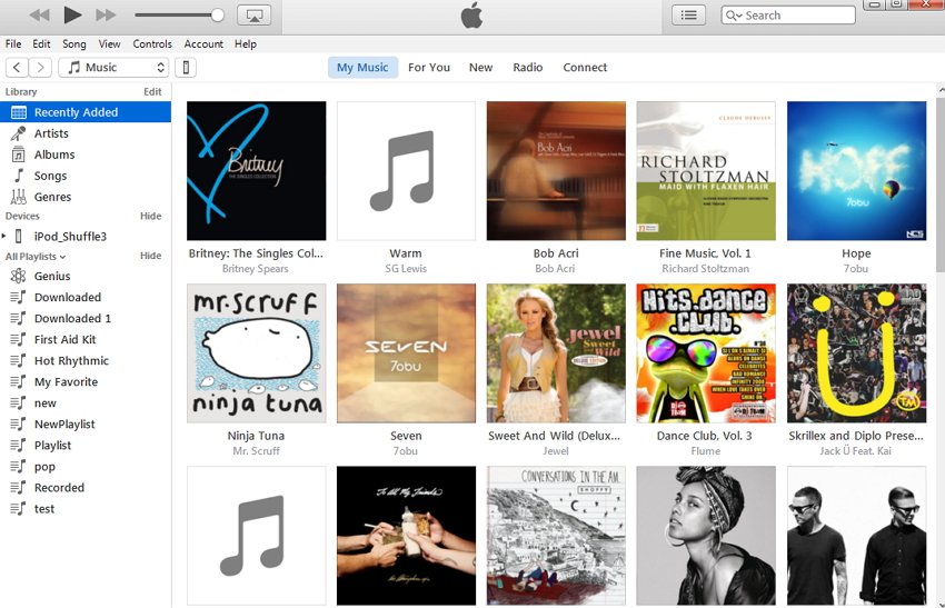 How to Transfer Songs from iTunes to iPod Using iTunes- download itunes and buy music