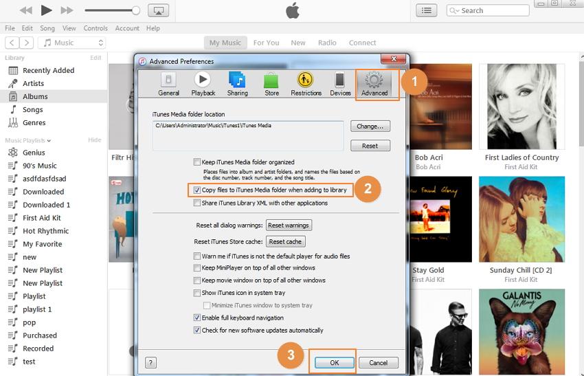transférer les playlists depuis iTunes vers nexus 5
