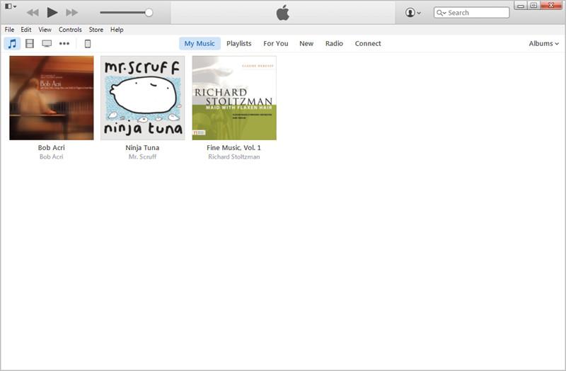 Trouver les fichiers MP3 sur iTunes