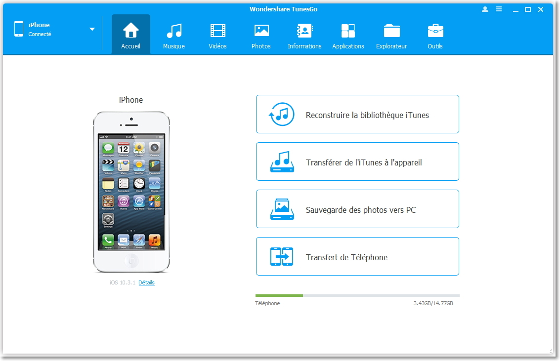 transférer des notes musicales iPhone vers iTunes