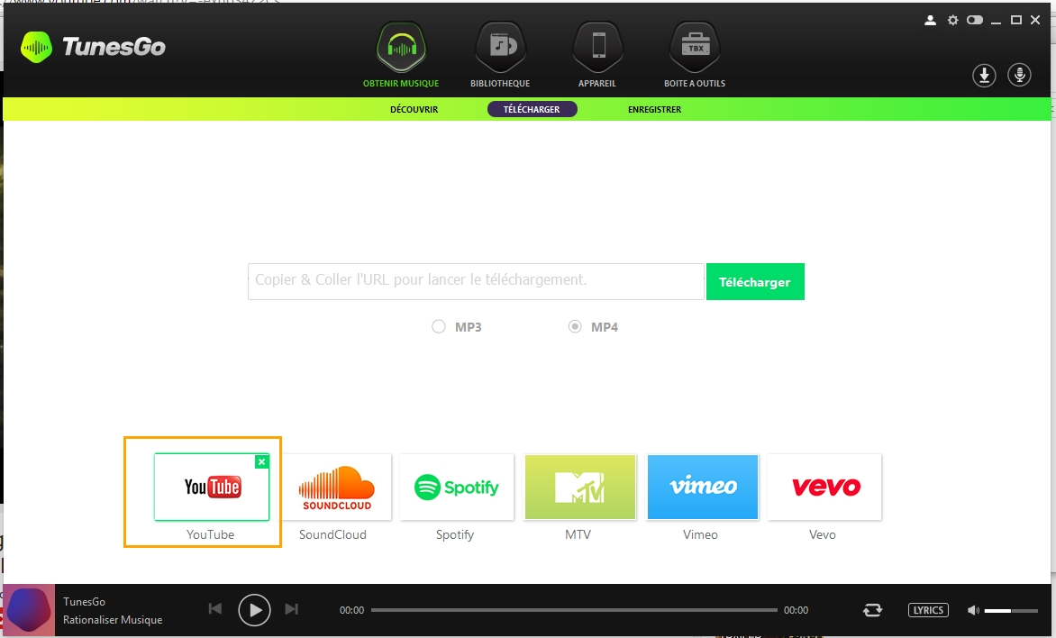 Download Music from YouTube/Websites to iTunes
