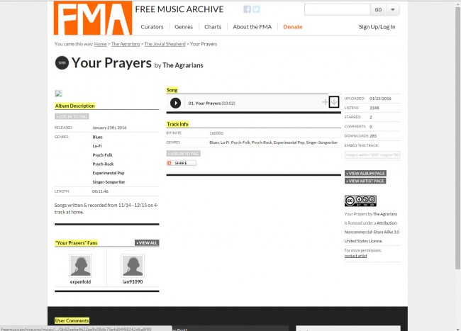 Download Music from Free Music Archive to PC - Download Music