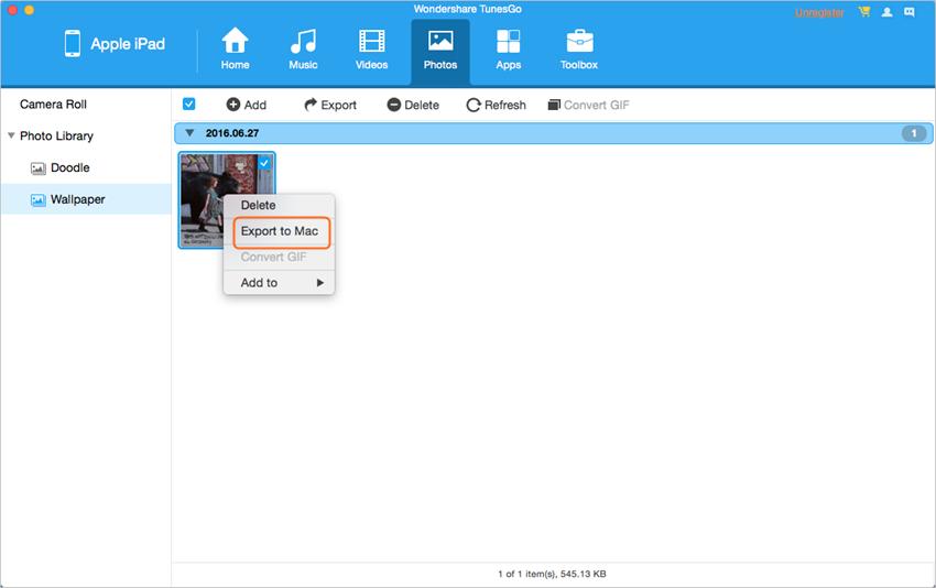 come sincronizzare ipad contenuti per mac