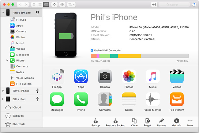 Transfer Apps from iPad to iPad - iMazing