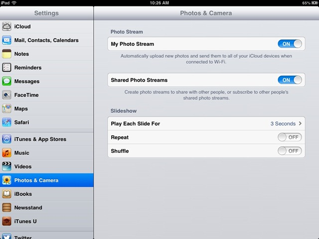 Transfer Photos from iPhone to iPad Using Photo Stream