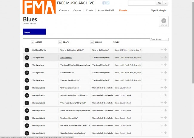 Download Music from Free Music Archive to PC - Choose Music
