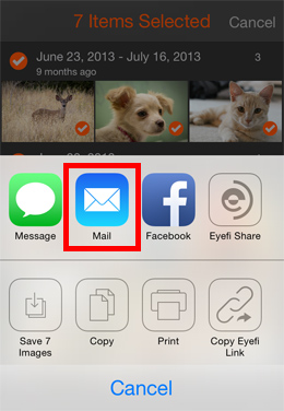 Transfer Files from iPhone to iPad via Email