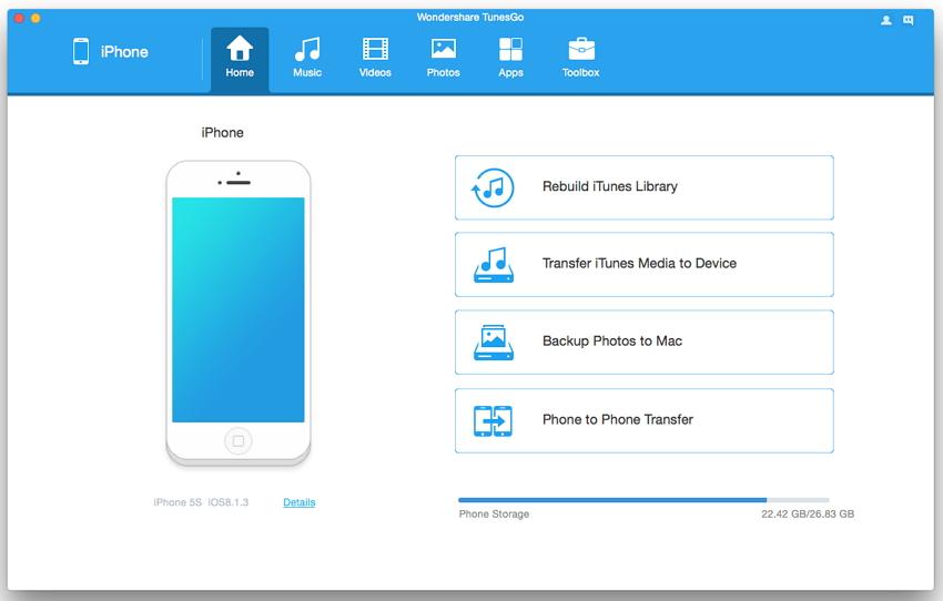 trasferire le canzoni iphone al mac senza itunes