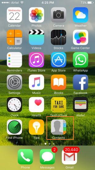 come unire i contatti duplicati su iphone manualmente
