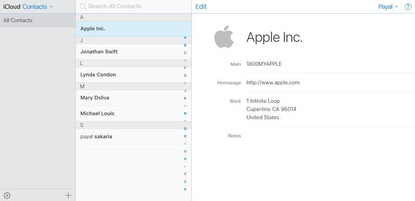 come unire i contatti duplicati su iphone con icloud