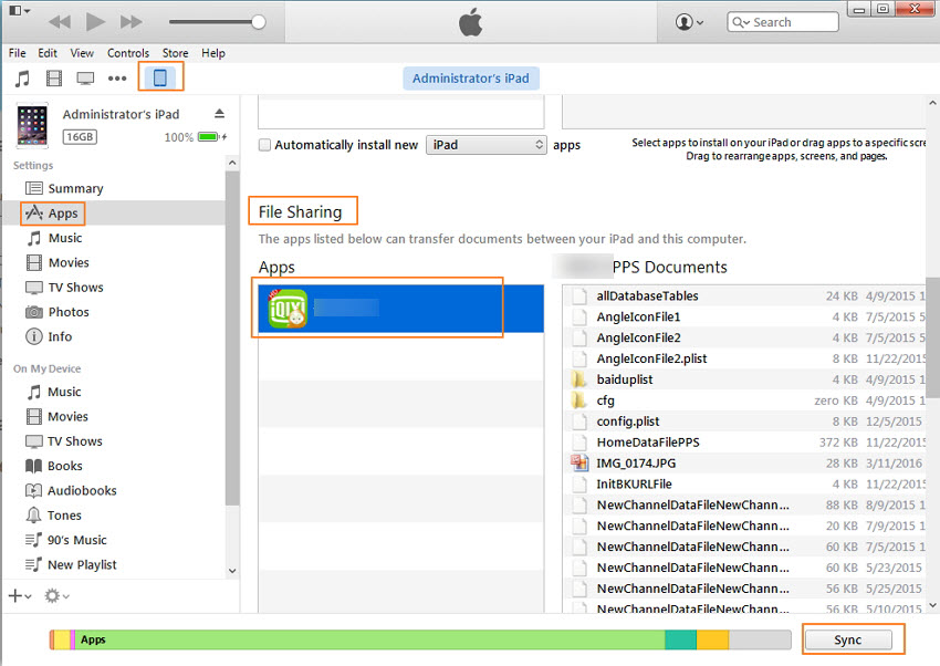 trasferire file da pc a iphone con itunes