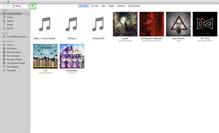 come eliminare musica da ipod classic touch con itunes