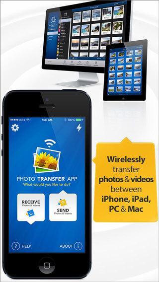 iPhone Foto's transfer app