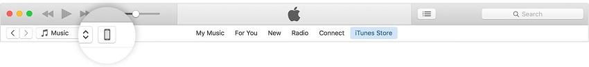 Verplaats foto's van de computer naar de iPod Touch-start itunes en verbind ipod