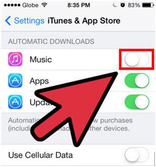 Verwijder liedjes op iphone/ipad/ipod-deactivated