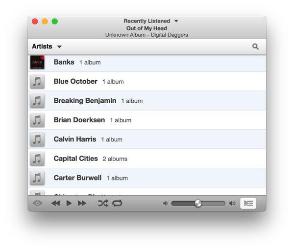 iTunes Alternativen voor Mac-Ecoute