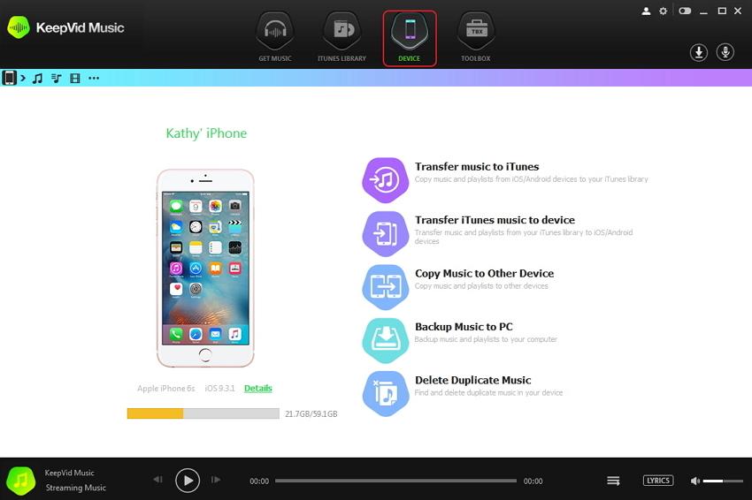 iTunes Alternativen voor Mac-keepvid
