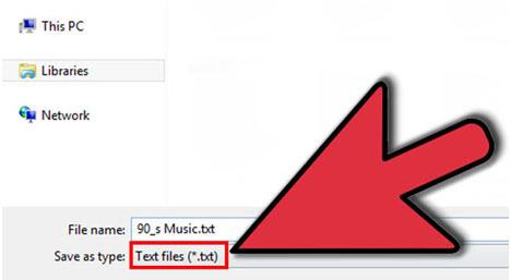 Exporteer: Speellijsten van iTunes naar tekst