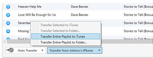 Exporteer: De iTunes-afspeellijsten met iPhone/iPad / iPod