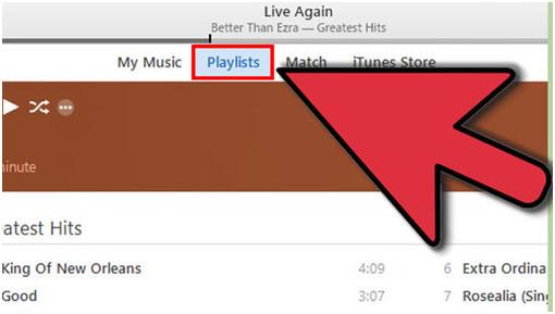 Exporteer: De iTunes-afspeellijst met muziekbestanden via iTunes