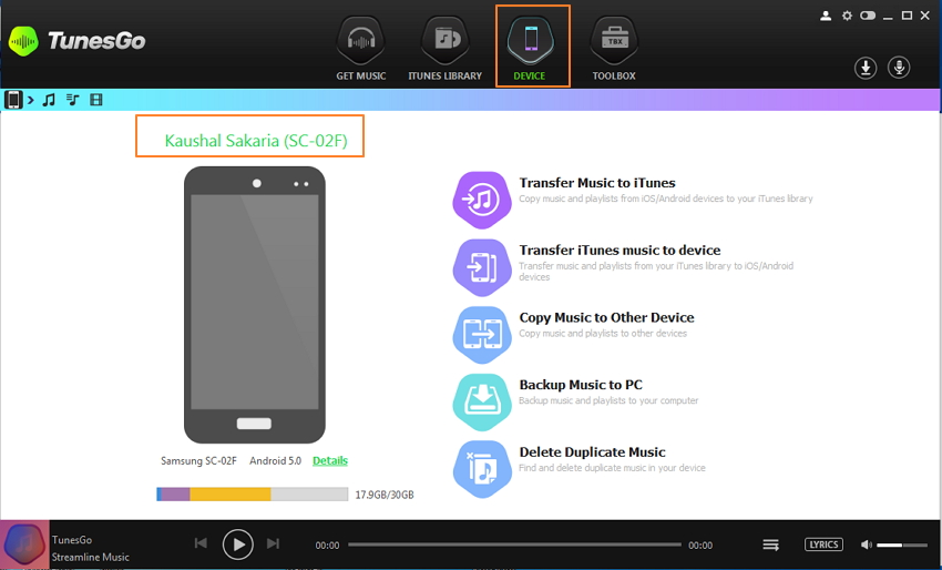 Download Music from YouTube/Websites to Android Device